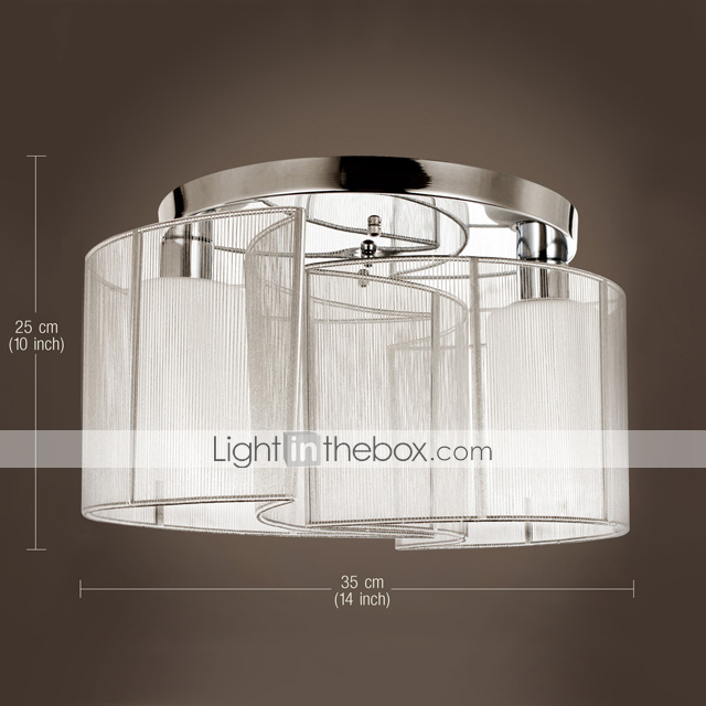Sl ceiling light modern design bedroom 2 lights 143246 for Glass ceiling bedroom