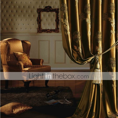 Two Panels European Neoclassical Floral Botanical Gold