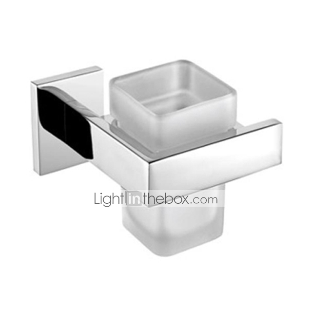 Toothbrush Holder Stainless Steel Wall Mounted 12 9 11 6 9
