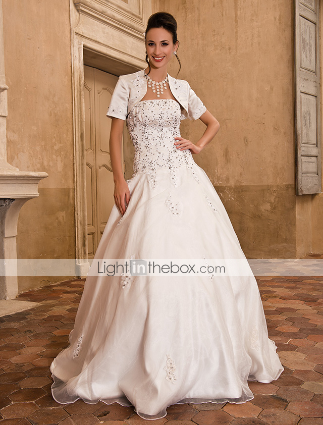 Lanting bride ball gown petite plus sizes wedding dress for Wedding dresses petite sizes