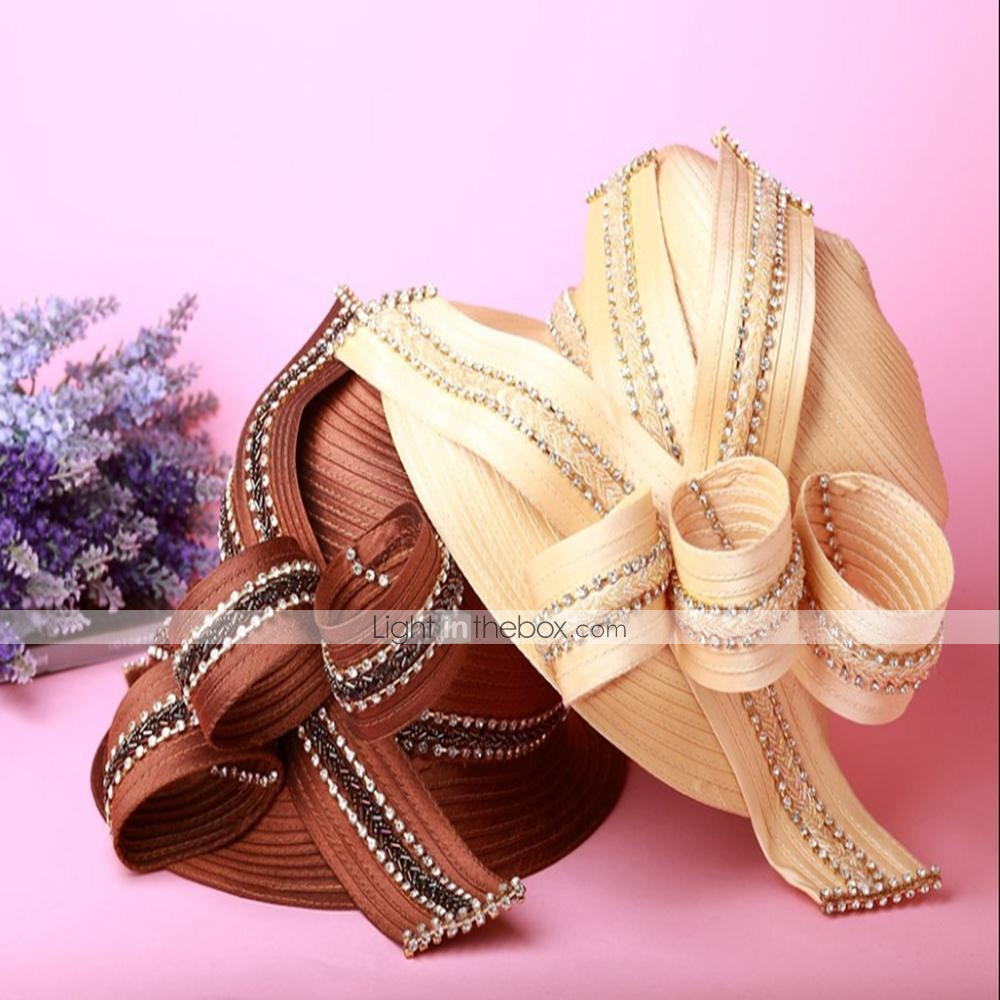 fashion kentucky derby hat exquisite beaded