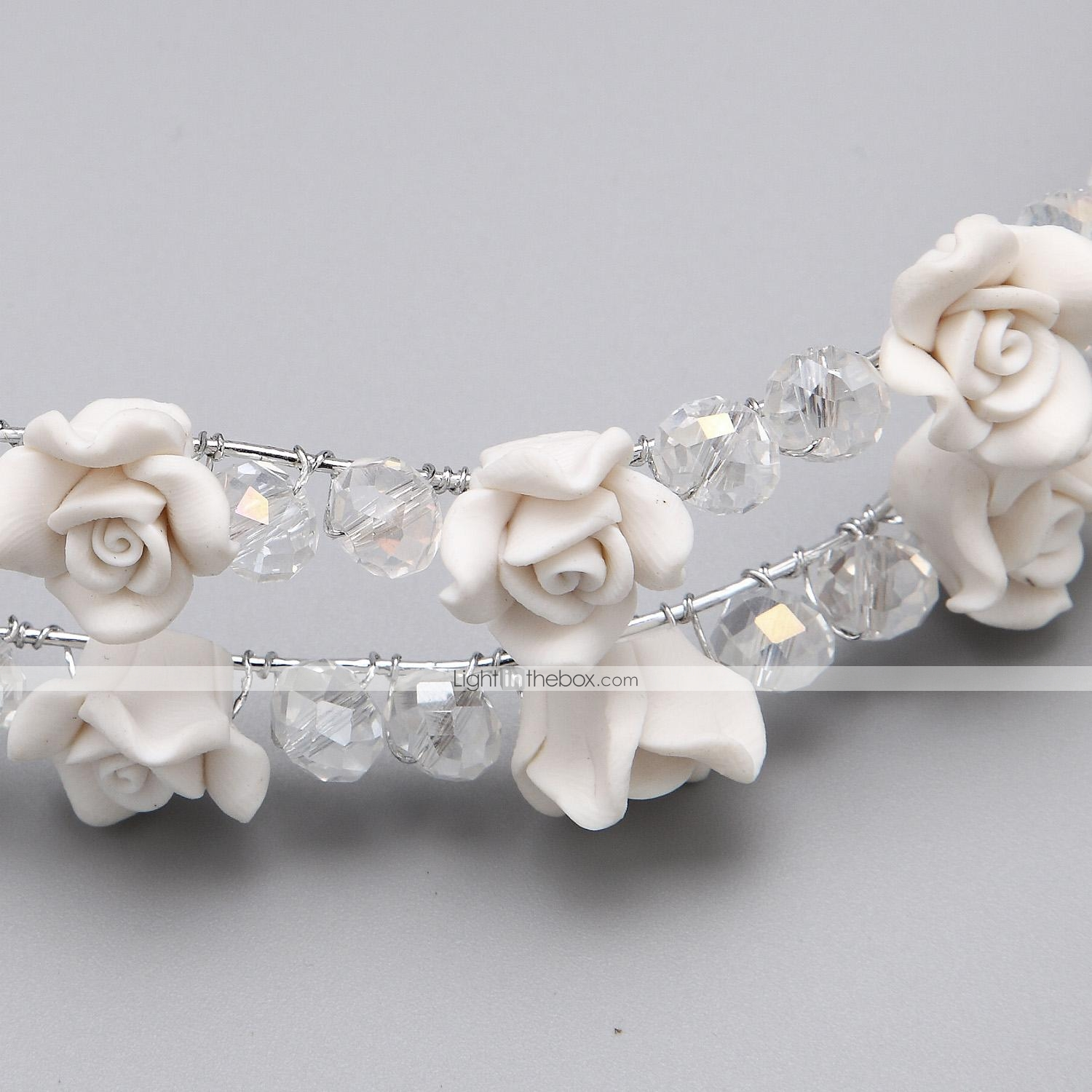 Wedding Flowers In Resin: Women/Flower Girl Alloy/Resin Flowers With Wedding/Party