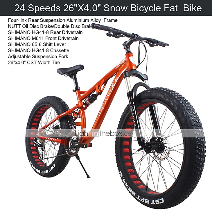 Mountain Bike Cycling 24 Speed 26 Inch 700cc 40mm Men S