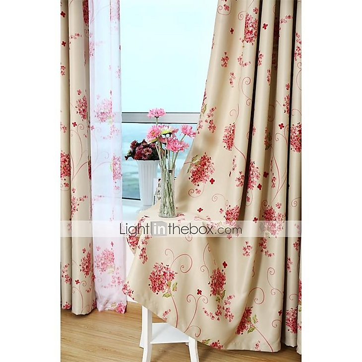 Double Sided Drapes : Country curtains blackout double sided printing