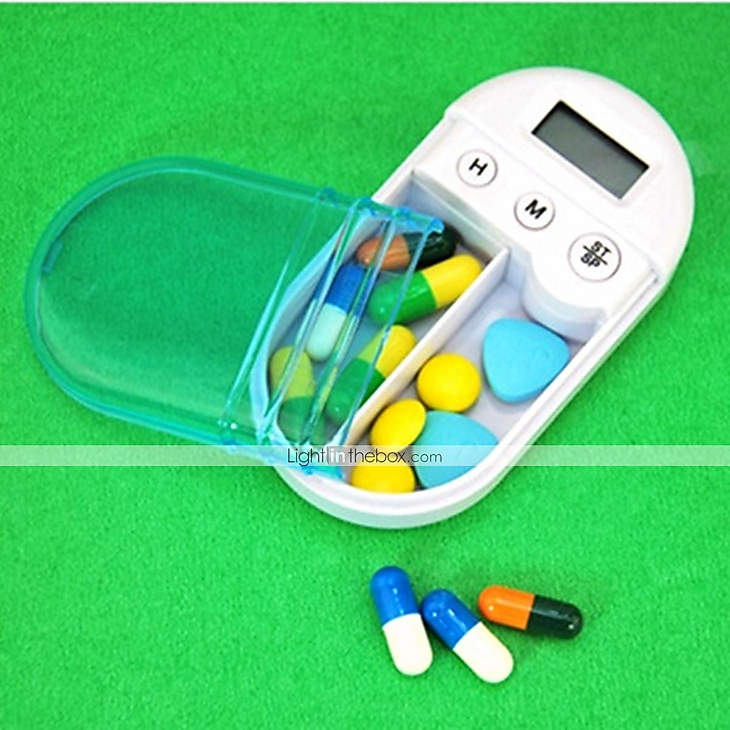Timing Electronic Recuerde Pill Box Case 1507294 2017 – $5.99
