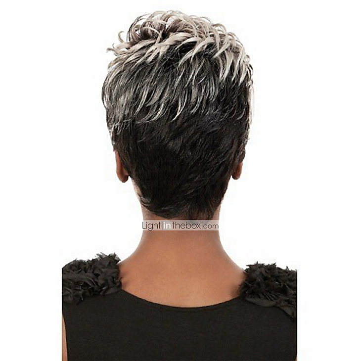 ... Afro Wig With Grey For Black Women Short Hair 3635949 2017 – $18.00