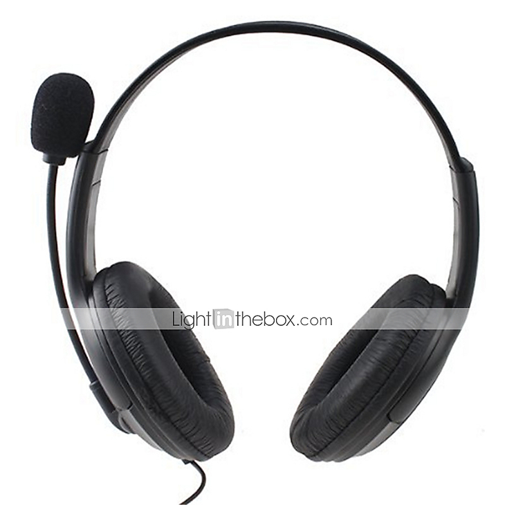gaming chat headset med mikrofon til ps4 tr dl s. Black Bedroom Furniture Sets. Home Design Ideas