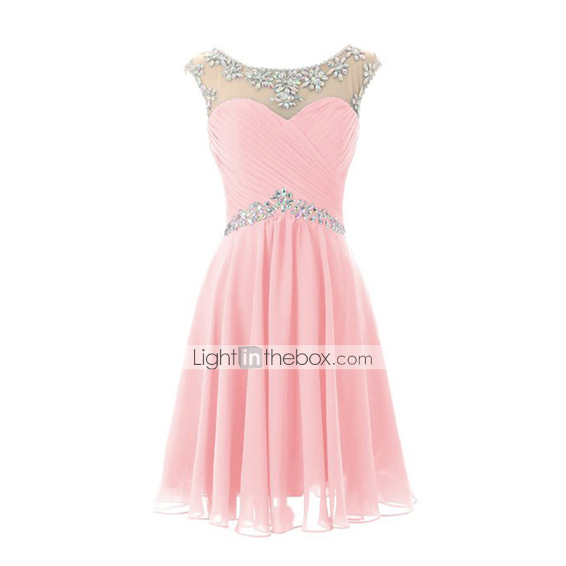 Pink bridesmaid dresses light in the box discount for Wedding dress in a box