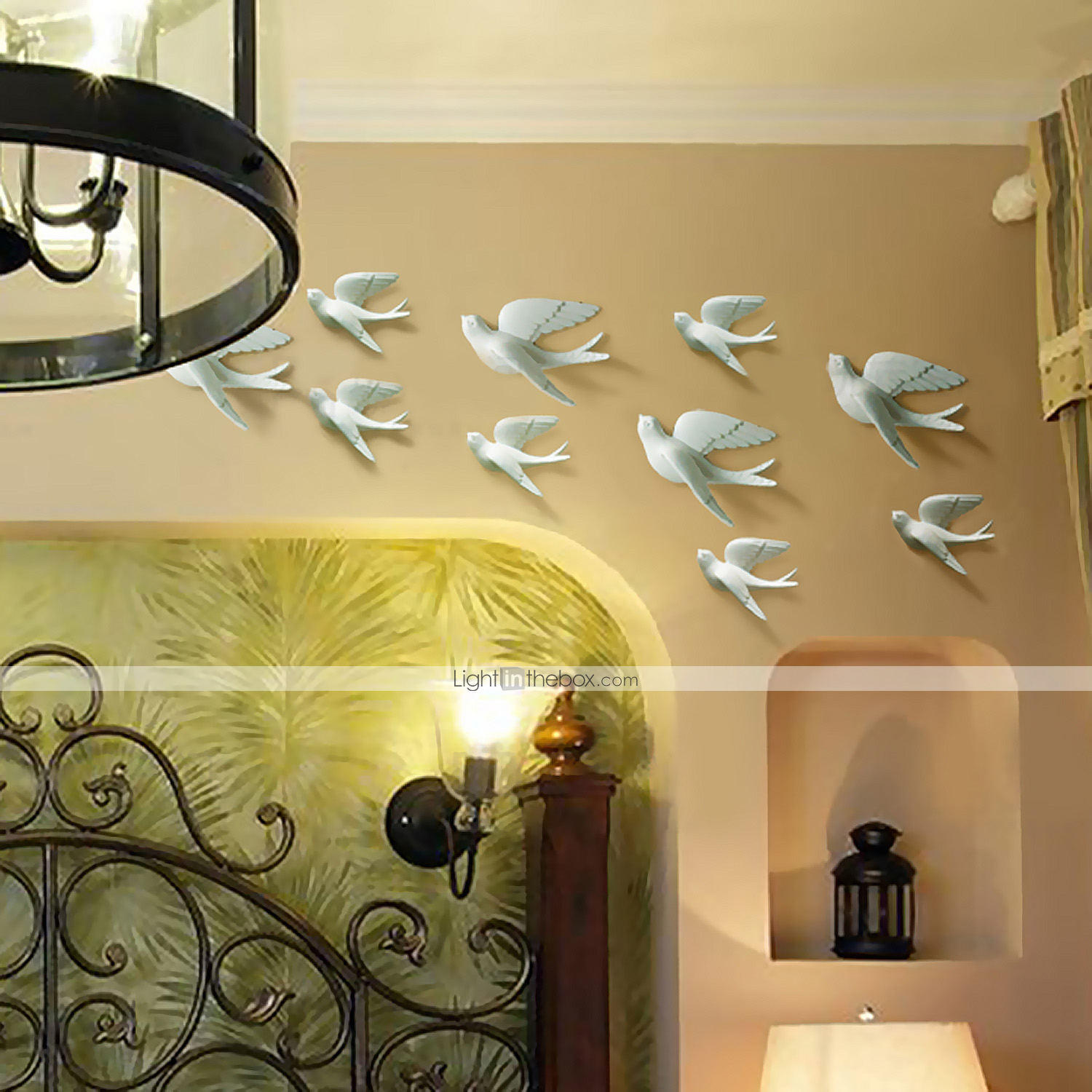metal wall art wall decor the dove flying wall decor set of 5 2263213 2016. Black Bedroom Furniture Sets. Home Design Ideas