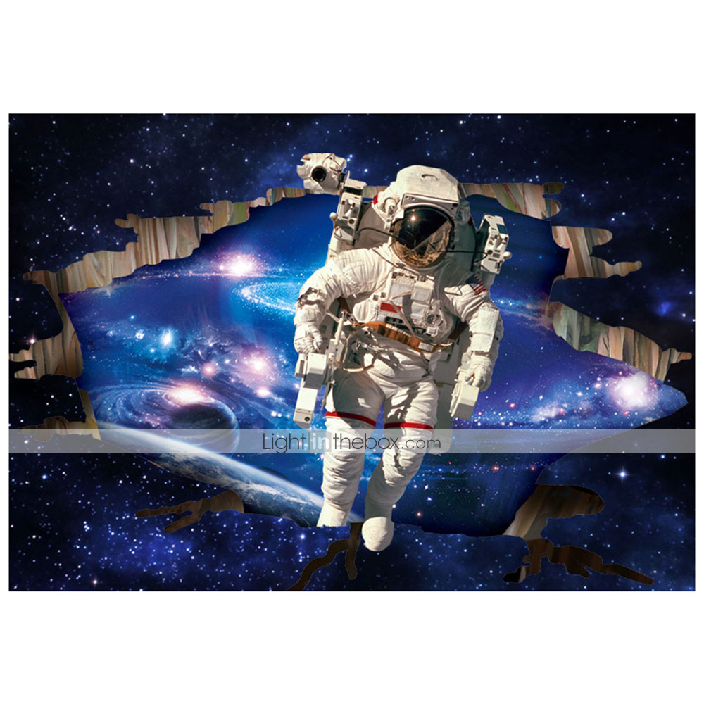 Wall Stickers Wall Decals 3d Kids Room Outer Space