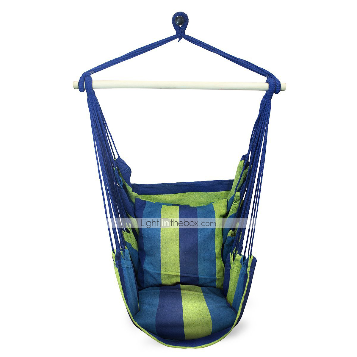 SWIFT Outdoor Portable Cottton Stripe Swing Outdoor