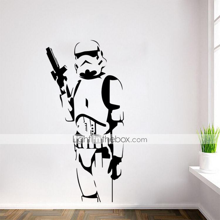 wars stormtrooper darth vader vinyl wall stickers wall decals home decor wall decal