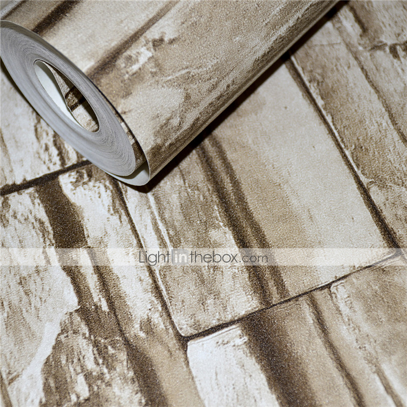 Modern 3d brick pattern wallpaper wall covering for 3d brick wall covering