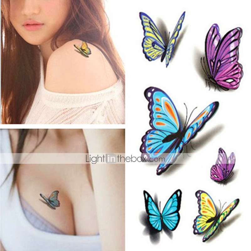 Sexy waist shoulder water transfer tattoo decal waterproof for Temporary tattoo sticker