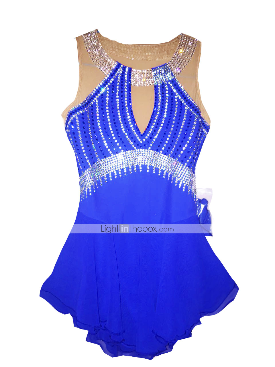 Ice Skating Dress Women's Sleeveless Skating Dresses ...