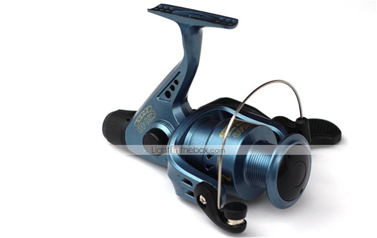 fishing spinning reel gear ratio 5 0 1 exchangable handle