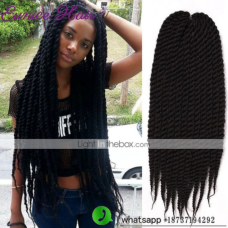 14 Inch Crochet Box Braids : Havana Twist Braids Hair Extensions 12 14 16 18 20 22 24 Kanekalon 12 ...