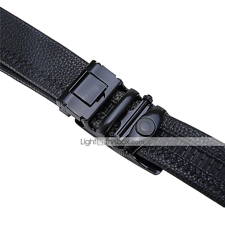 mens dress belts genuine leather belt automatic buckle