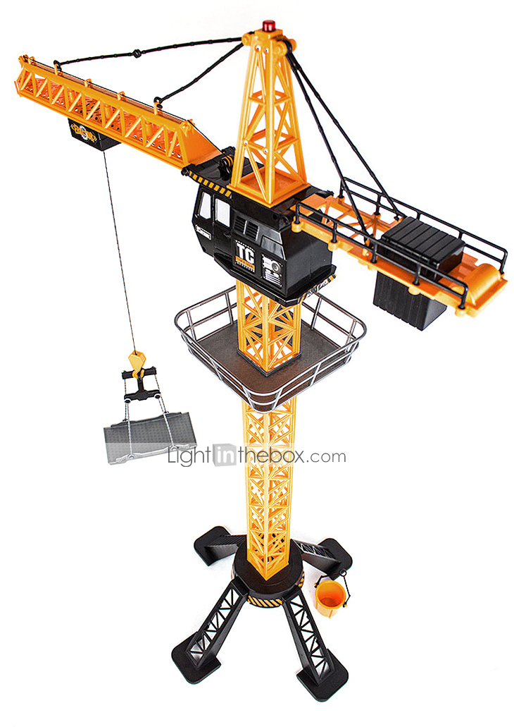 Large Construction Toys For Boys : New rc remote control tower crane boys construction toy