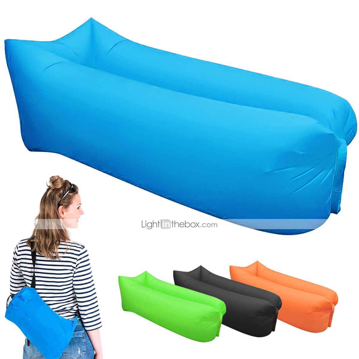21grams sleeping bag inflatable sofa heat insulation. Black Bedroom Furniture Sets. Home Design Ideas