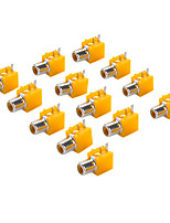AV-1 RCA Jack Socket for Electronics DIY Use (10 Pieces a Pack)