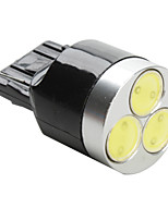 T20 3W SMD LED White Light Bulb for Car (DC 12V)