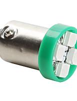ampoule verte BA9S 3528 smd 4 LED pour voiture (dc 12v, jeu de 4 pièces)