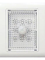 0.5W 8-LED Yellow Light PIR Sensor Corner Light (AC220V)