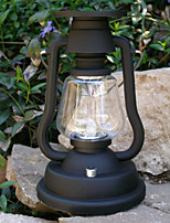 7-LED White Light Hand Crank Solar Camping Lamp