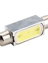 41mm 1.5W 100-120LM 8000K 7000-Ampoule Blanc Guirlande lumineuse des lampes de voiture (12V DC)