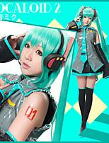 Vocaloid Fórmula VER. Miku Outfit Cosplay