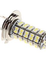 Ampoule H7 3W 68-SMD 240-270Lm Lumière LED blanche pour lampe Brouillard voiture (12V)