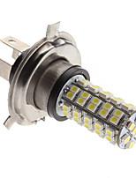 H4 3W 68-SMD Lumière 240-270Lm Natural White LED Ampoule pour lampe Brouillard voiture (12V)