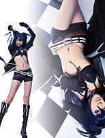 Black Rock Shooter Black Costume Cosplay Outfit
