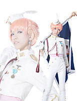 Macross Frontier Sheryl Nome White Military Uniform Cosplay Outfit