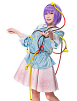 Touhou Project Satori Komeiji Cosplay Outfit