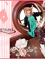 Amnesia Nameless Actress Cute Blue Dress Cosplay Outfit