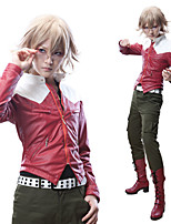 Tiger & Bunny Barnaby Brooks Jr. Outfit Red Jacket Cosplay