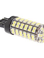 T20(7443) 5W 96x3528 SMD 280LM Natural White Light LED Bulb for Car Fog Lamp (12V)