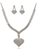 Women's Cubic Zirconia / Alloy Jewelry Set Cubic Zirconia