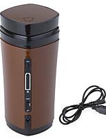 caneca usb portátil agitação copo de café quente do chá da água magnética (cor aleatória) 7 * 7 * 16 centímetros