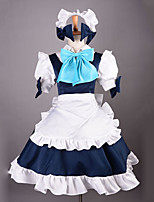 Cosplay Costume Inspired by Konmakan Sakuya Izayoi Maid Uniform