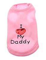 I Love My Daddy Cool Vest for Pets Dogs (Assorted Sizes)