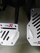 skridsikker køretøj gas-bremse-kobling pedaler kit (3-delt sæt, assorterede farver)