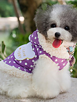 All Seasons Cotton Coats for Dogs Pink / Purple XS / M / XL / S / L