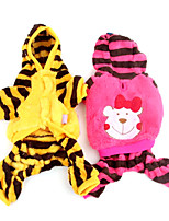 Winter Cotton Pants / Hoodies for Dogs Yellow / Rose XS / S / M / L