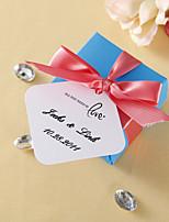 Étiquettes de faveur personnalisées - Tout ce que vous avez besoin est amour (jeu de 36)