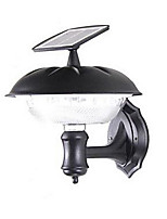 Outdoor Solar 20-LED Bright White Wall Mount Garden Path Light