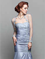 Women's Wrap Shrugs Long Sleeve Lace Silver Wedding / Party/Evening Scoop Lace Open Front