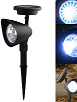 Cool White Light LED LED Solar Spot Light Landscape Light